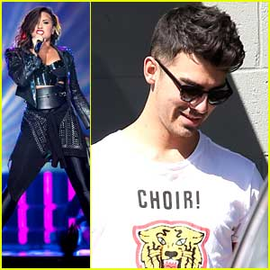 Demi Lovato & Joe Jonas Sing Camp Rock's 'This Is Me' At Staples Center