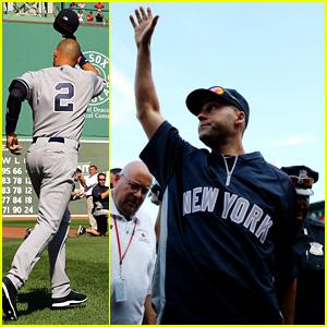 Derek Jeter Plays Final Career Game with Yankees - See the Pics!