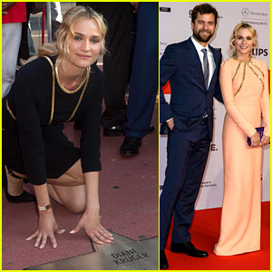 Diane Kruger Gets a Star on Berlin's Walk of Fame!