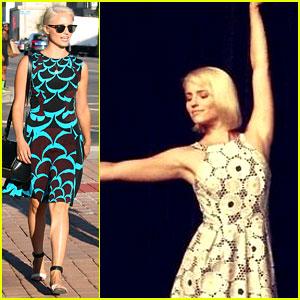 Dianna Agron Does a Ballerina Dance for 'Glee' Final Season