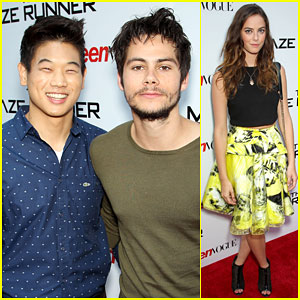 Dylan O'Brien Brings 'The Maze Runner' to NYC with Teen Vogue!
