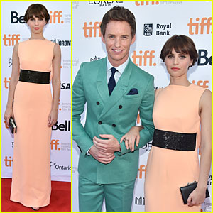 Eddie Redmayne & Felicity Jones Bring ALS to the Big Screen at 'Theory of Everything' TIFF Premiere