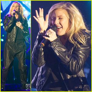 Ellie Goulding is Thankful After Last Summer Festival Performance