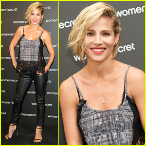Elsa Pataky Looks Unbelievable in Tight Leather Pants Just Six Months After Giving Birth