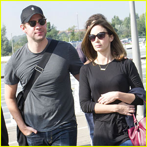 Emily Blunt & John Krasinski Leave Venice After George Clooney's Wedding