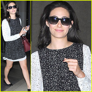 Emmy Rossum Shed Small Tears Of Joy At 'Project Runway' Finale Taping