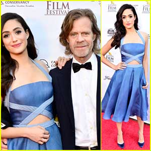Emmy Rossum Joins William H. Macy For 'Rudderless' Premiere at Catalina Film Festival