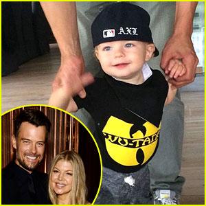 Fergie & Josh Duhamel's Son Axl Has Gotten So Big - New Pic!