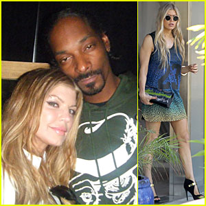 Fergie Shows She Has 'L.A. Love' for Snoop Dogg