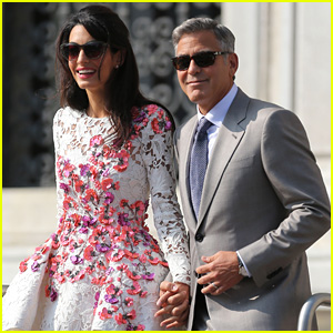 George Clooney & Amal Alamuddin: First Post-Wedding Photos!