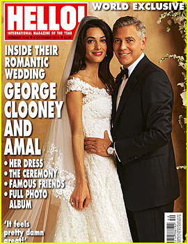 More Photos from George Clooney & Amal Alamuddin's