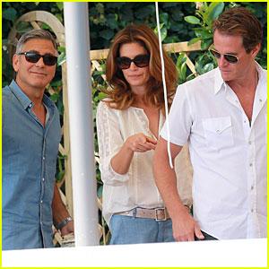 George Clooney Grabs Breakfast Before the Big Wedding Day!