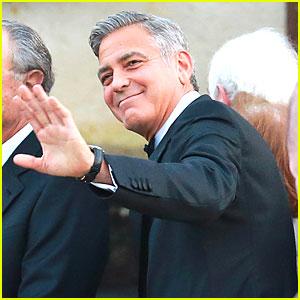 George Clooney Makes His Last Splash As Single Man