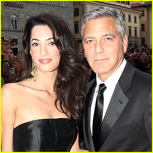 George Clooney Marries Amal Alamuddin in Venice!