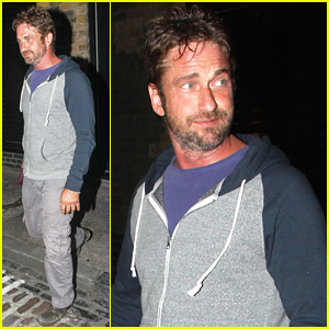 Gerard Butler Treats Himself to Casaul Chiltern Night Out!