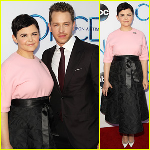 Ginnifer Goodwin & Josh Dallas Are The Cutest Couple at 'Once Upon A Time's Season Four Premiere Screening!