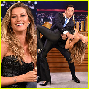 Gisele Bundchen Shows Off Epic Dance Moves for 'Fallon'