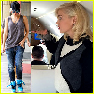 Gwen Stefani Attends the Apple Launch with Dr. Dre!