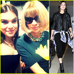 Hailee Steinfeld 'Honored' to Sit Next to Vogue's Anna Wintour