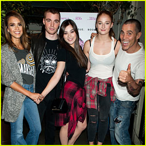 Jessica Alba Joins Hailee Steinfeld For 'Barely Lethal' Screening (Exclusive Pics)