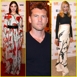 Hailee Steinfeld & Sam Worthington Premiere 'The Keeping Room' at TIFF 2014