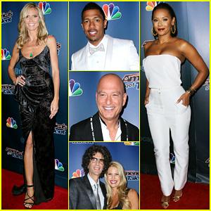 Heidi Klum Celebrates 'America's Got Talent' Finale: 'What An Amazing Season!'