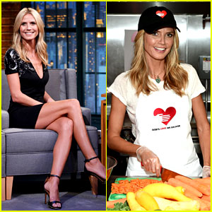 Heidi Klum Supports Joan Rivers' Favorite Charity the Day of Her Death