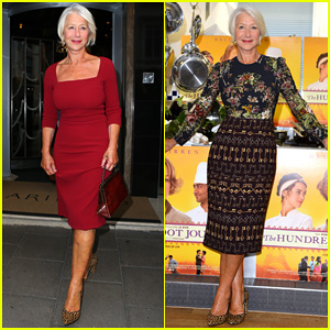 Helen Mirren is Red Hot for the GQ Men of the Year Awards 2014 After 'Hundred Foot Journey' Press!