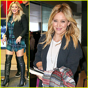 Hilary Duff Performs 'All About You' Live on TV - Watch Now!