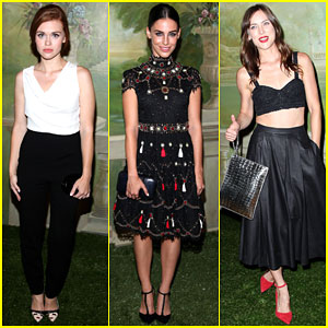 Holland Roden & Jessica Lowndes Are All About Alice + Olivia!