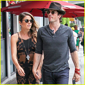 Ian Somerhalder Defends Girlfriend Nikki Reed Against Instagram Trolls