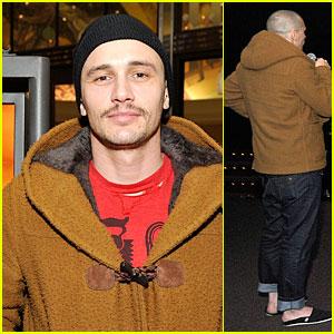 James Franco Show Off His Heels at 'Don Quixote' Screening
