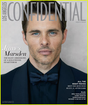 James Marsden Looks So Handsome For 'Los Angeles Confidential' Men Issue