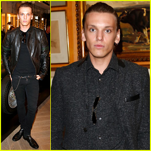 Jamie Campbell Bower Goes Dark for Two Different Events