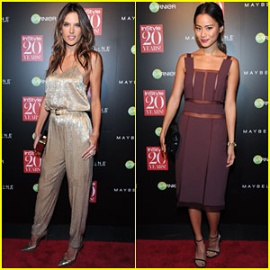 Alessandra Ambrosio & Jamie Chung Party It Up for InStyle!