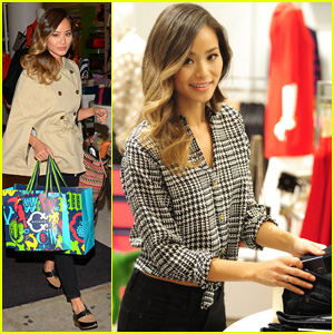 Jamie Chung is a Blue Jean Baby in the Big Apple