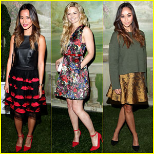 Jamie Chung & Jennifer Morrison Look Like Princesses at NYFW!