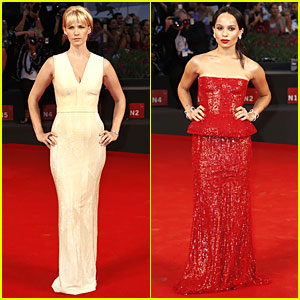 January Jones & Zoe Kravitz Have a 'Good Kill' at Venice Film Festival
