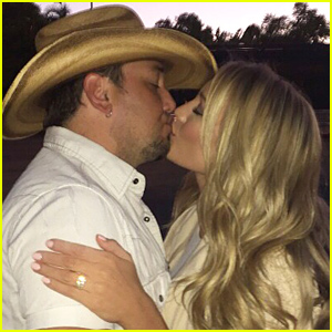 Jason Aldean's Fiancee Brittany Kerr Shares Engagement Ring Photo!