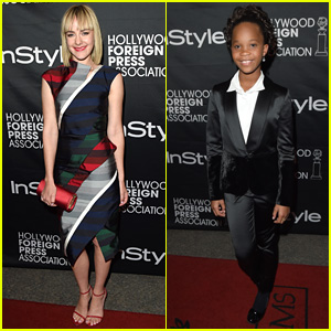Jena Malone & Quvenzhane Wallis Party with Instyle at TIFF 2014