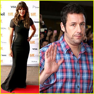 Jennifer Garner & Adam Sandler Premiere 'Men, Women, and Children' at TIFF