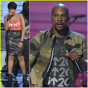 Jennifer Hudson & Common Sing 'Remission' at Stand Up to Cancer 2014 - Watch Now!