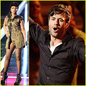 Jennifer Hudson & Enrique Iglesias Bring Music to Fashion Rocks 2014