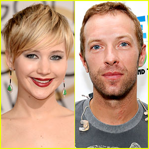 Jennifer Lawrence & Chris Martin Get Affectionate at Chateau Marmont