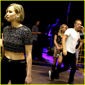 Jennifer Lawrence & Chris Martin's First Photo Together!