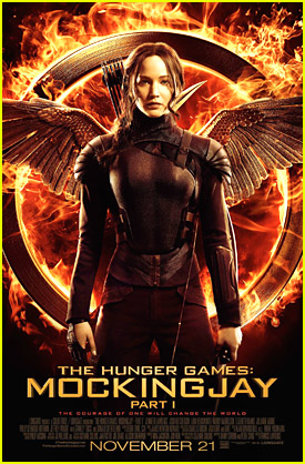 Jennifer Lawrence's Official 'Mockingjay' Poster Is Here!