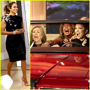 Jennifer Lopez Plays 'Car-aoke' with Meredith Vieira! (Video)