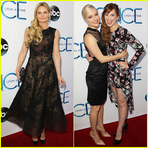 Jennifer Morrison & Georgina Haig Put On Their Best for 'Once Upon A Time's Season Four Premiere Screening!