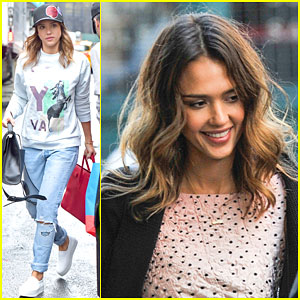 Jessica Alba Opens Up The Honest Company Ultra Clean Room in NYC!