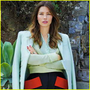 Jessica Biel Goes Bare For 'Yahoo Style'